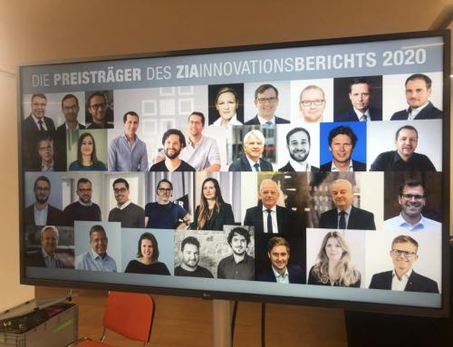 Creators vom ZIA zu Best-Practice-Innovation ausgezeichnet