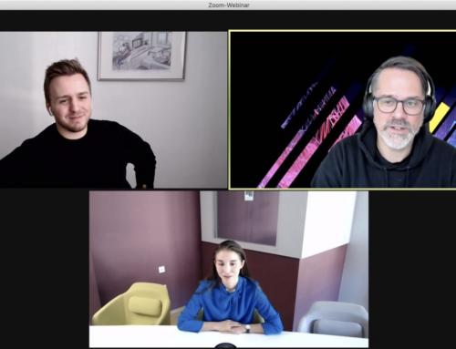 Industry Talk mit corrux und WeAre